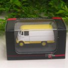 High Speed 1/87 Diecast Car Mercedes-Benz L319 van ( white & yellow)
