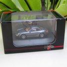 High Speed 1/87 Diecast Car Model Porsche Cayman S Grey (5cm)