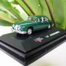 High Speed 1/87 Diecast Model Car JAGUAR MARK II 1960 (Green) 5cm Classic Car