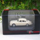 High Speed 1/87 Diecast Model Car JAGUAR MARK II 1960 (Beige) 5cm Classic Car