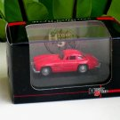 High Speed 1/87 Diecast Car Mercedes Benz 300SL Wing Door 1954 Red Classic Car