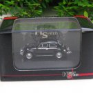 High Speed 1/87 Diecast Model Car VW Volkswagen Kafer Beetle Black Classics Car (5cm)