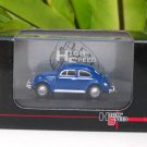 High Speed 1/87 Diecast Model Car VW Volkswagen Kafer Beetle Blue Classics Car (5cm)