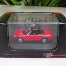 High Speed 1/87 Diecast Model Car 2004 FORD THUNDERBIRD CONVERTIBLE Red (5cm)