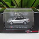 High Speed 1/87 Diecast Model Car  Audi A 4 Cabrio 2002-06 Silver (5cm)