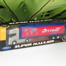 Welly 1-64  Die Cast Model SCANIA V8 R730 (4x2) Container Truck Tractor Trailer Gold (24cm)