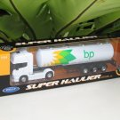Welly 1-64  Die Cast Model SCANIA V8 R730 (4x2) Trailer Trucks BP OIL Tanker White (24cm)