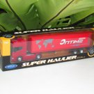 Welly 1-64  Die Cast Model SCANIA V8 R730 (4x2) Container Truck Tractor Trailer Red (24cm)