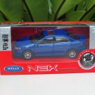 Welly NEX 1/34-1/39 (11cm) Die cast 2016 Japan Toyota Camry Blue Sport Car