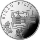50 litas coin for Birzai Castle