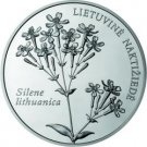 50 litas coin for the Lithuanian nature