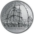 50 litas coin dedicated to Tytuvėnai for architectural ensemble