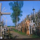 iauliai, The Hill of Crosses postcard