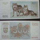 Lithuania money 500 talonų, 1993