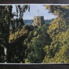 Vintage Soviet postcard 1956, Vilnius Gedimino castle