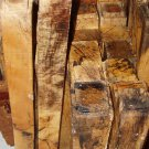 SPALTED TAMRIND WOOD 2x 2x16 LUMBER FOR POOL CUES WOODTURNING GUN~KNIFE HANDLES