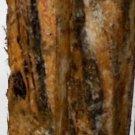 2 BLACK & WHITE EBONY Wood 1x1x12 Turning Stock For Magic Wands Photo Frame Pens
