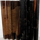 8 GABON EBONY & BOCOTE  Wood 1x1x12 Turning Stock For Magic Wands Photo Frames