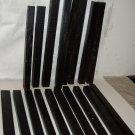 GABON EBONY Wood Turning Stock Lot of 18 Pc Magic Wands Photo Frames Drum Sticks