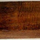 Beeswing Mango Wood Turning Guitar Mandolin Sides Backs Furnitures17x5.25x2.5