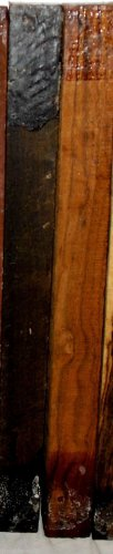 Bocote 1x1x12 Woodturning Magic Wands DrumStick Making Photo Frames Penturning