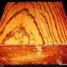 Buy Zebrawood Turnning Wood Stock Bowl Blank Gunsmithing Lumber Grips Reel Seats