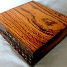 Zebrawood Turnning Wood Blank Gunsmithing Lumber Knife Grips Bowl Woodturning