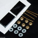 10 Sets of Straight Razors Parts Razor Handles Pins Washers Collars Wedges