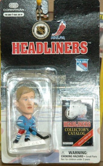 Headliners Wayne Gretzky 1997 New York Rangers NHL