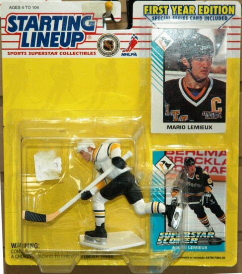 Starting LineUp - 1993 Edition - Mario Lemieux - Hockey