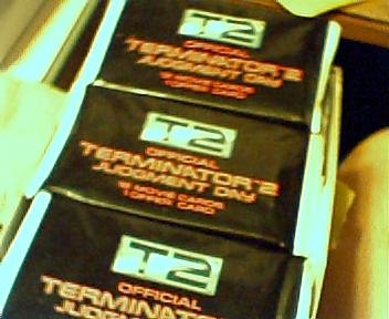 Official Terminator 2 Judgement Day Trading Card Lot