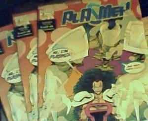 3 Plasmer comics, never opened
