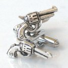 Steampunk JAMES BOND GUN Cufflinks AS