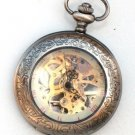 Steampunk SHERLOCK Pocket Watch Mechanical Movement