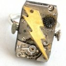 Steampunk FRANKENSTEIN Monster Bolt Ring Watch Movement