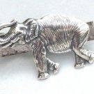 Steampunk STOMPPING ELEPHANT Men's Tie Bar Clip pin AS