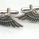 Steampunk FALLEN ANGEL WINGS Cufflinks Gothic Goth AS