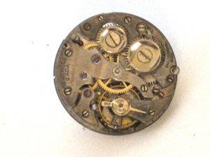 Steampunk WATCH MOVEMENT Tie Pin Clip Mechanical Element  Vintage Groomsmen Gift