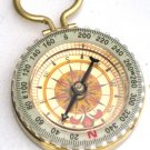 FIND YOUR WAY Steampunk GLOW COMPASS Necklace Pendant