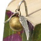 STEAMPUNK Golden Snitch BOOKMARK Harry Potter Locket