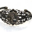 Steampunk VICTORIAN Watch Movements Bangel Bracelet AS