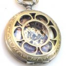 Steampunk GODDESS Pocket Watch Mechanical Chain Steam Punk Necklace fob necklace