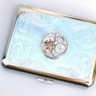 Steampunk Watch Movement Cigarette Case Slim Wallet Small Card Case ASS1