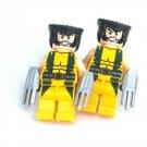 WOLVERINE Men's Cufflinks - Minifigure - Lego® - Marvel - X-Men