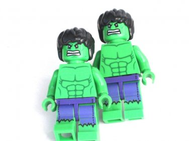 HULK Men's Cufflinks - Minifigure - Lego® - Marvel - Avengers -
