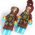 IORN MAN Men's Cufflinks - Minifigure - Lego® - Marvel - Avengers -