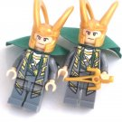 LOKI Men's Cufflinks - Minifigure - Lego® - Marvel - Avengers Thor -