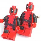 DEADPOOL Men's Cufflinks - Minifigure - Lego® - Marvel Spiderman -