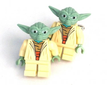 YODA Men's Cufflinks - Minifigure - Lego® - Star Wars Starwars -