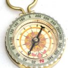 Steampunk FIND YOUR WAY - GLOW COMPASS Necklace Pendant
